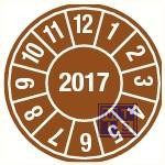 2017 bruin standaard 20mm 15/vel