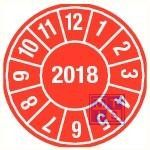 2018 rood standaard 30mm 9/vel