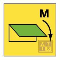 Clo. device f. machinery sp. vent. fotolum vinyl 150x150mm