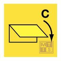 Clo. device f. cargo spaces vent. fotolum vinyl 150x150mm