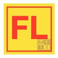 Fire fighter outfit locker fotolum vinyl 150x150mm