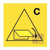 Rem. con. cargo sp. clo. devices fotolum vinyl 150x150mm