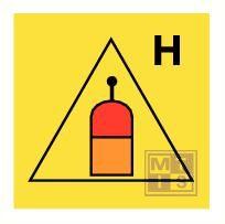 Rem. rel. sta. halon equivalent fotolum vinyl 150x150mm