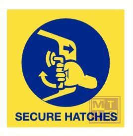 Imo secure hatches vinyl fotolum 150x150mm