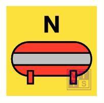 Fixed nitrogen ext inst vinyl 150x150mm