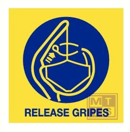 Imo release gripes vinyl fotolum 150x150mm