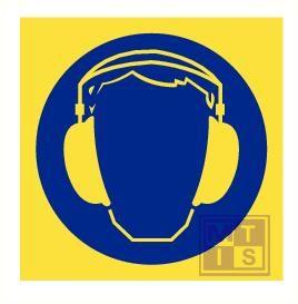 Imo oorbescherming nodig vinyl fotolum 150x150mm
