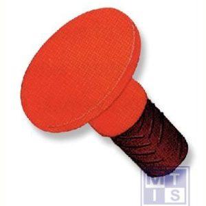 Stootkap oranje zacht pvc 12-16mm