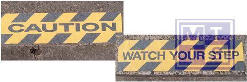 ANTI-SLIP GL/ZW 610X150MM WATCH YOUR STEP