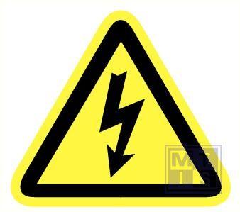Electrische spanning pp zelfklevend 200mm