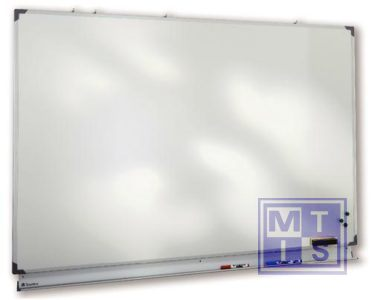 Witte schrijfborden staal 200x100cm