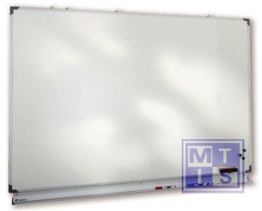 Witte schrijfborden staal 200x120cm