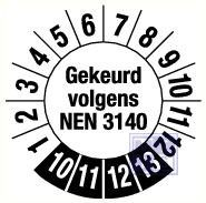NEN 3140 6jr fragmenteerbaar 20mm 15/vel