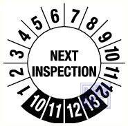 Next inspection 6jr standaard 20mm 15/vel