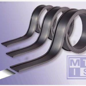 Magnetische rol wit 30mm dikte 0.85mm, lengte 15m