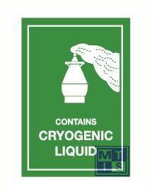 Cryogenic liquid vinyl 75x105mm