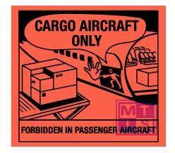 Cargo aircraft only vinyl 120x110mm
