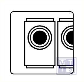 Wasserette pp 150x150mm
