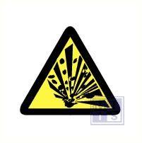Mini picto Explosieve stoffen 54x 15x15mm