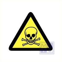 Mini picto Giftige stoffen 54x 15x15mm