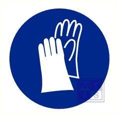 Mini picto Handschoenen verplicht 20x  20x20mm