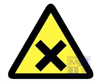 Mini picto Schadelijke stoffen 15x  25x28mm