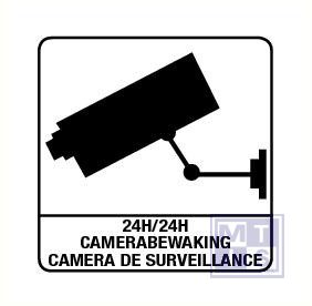 Camerabewaking vinyl 100x100mm