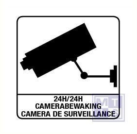 Camerabewaking vinyl 150x150mm