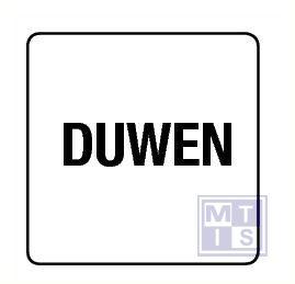 Duwen vinyl 100x100mm