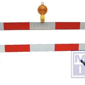 Barriere Klasse III Gegalvaniseerd 1000x208x1000mm 2 planken