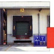 Haakse uitvoering veersysteem geel pvc 400x400mm