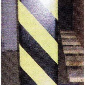 Stalen kolombescherming U profiel 400x245x200mm (hxbxd)