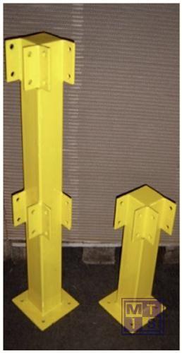 Veiligheidsreling staal Outdoor verzinkt/poedergelakt 50cm