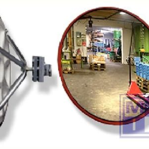 Industriele spiegel Diam 80cm 7kg zichtwijdte 15-22m