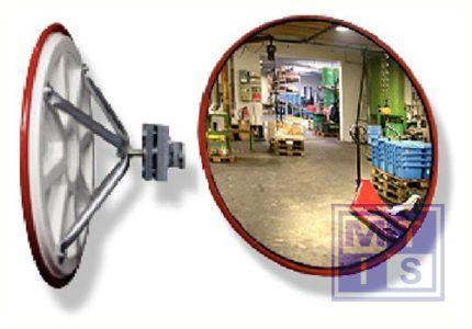 Industriele spiegel Diam 50cm 4kg zichtwijdte 5-7m