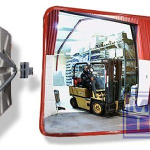 Industriele spiegel 60x80cm 8kg zichtwijdte 15-22m