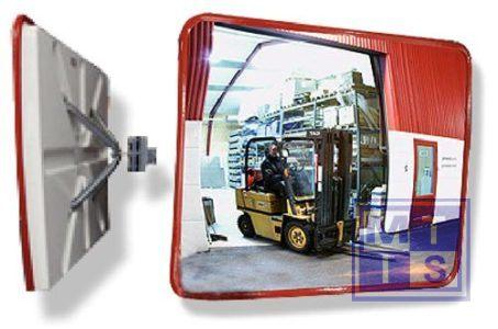 Industriele spiegel 40x60mm 4kg zichtwijdte 9-15m