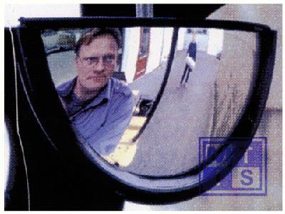 Achteruitkijkspiegel 2kg 45x25x15cm