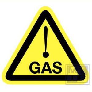 Gas retrorefl. 150mm