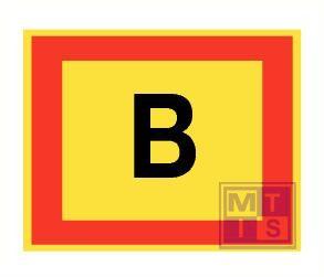 ''B'' fotolum vinyl 200x150mm
