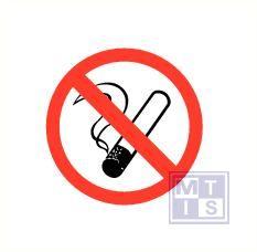 Mini picto Verboden te roken 54x 15x15mm