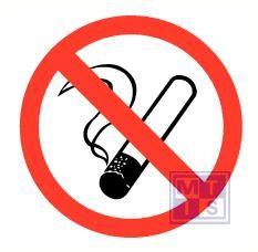 Mini picto Verboden te roken 20x 20x20mm