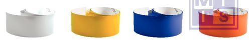 Retroreflecterende tape 1000x60mm geel