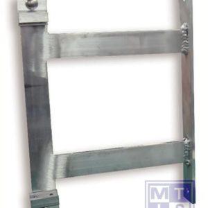 Zijdelings muuruitkraging voor T2000 bord, voor bord 400mm