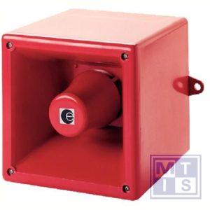 Alarmsirene 130x130x132 105db IP65 230V