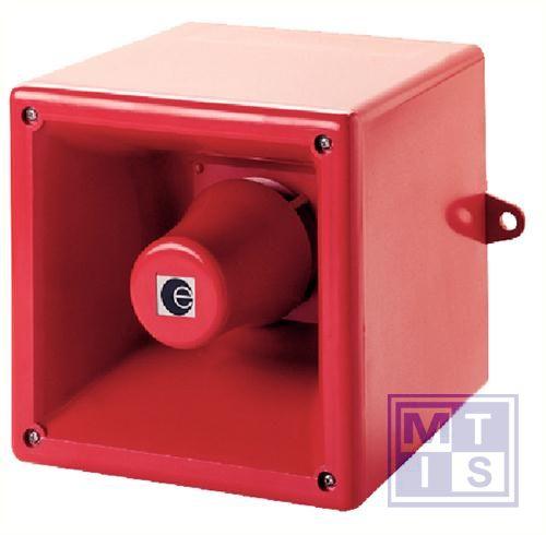 Alarmsirene 130x130x132 105db IP65 24V