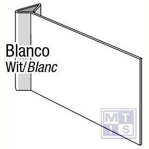Blanco haaks pvc 150x300mm