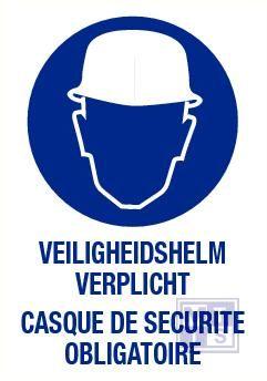 Helm verplicht nl/fr pp 140x200mm