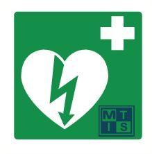 AED ilcor pp 150x150mm