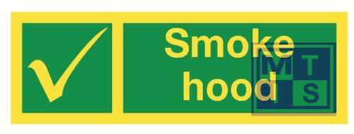 Imo smoke hood vinyl fotolum 300x100mm
